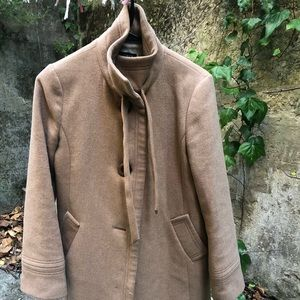 Jcrew Brown wool and cashmere coat size 2
